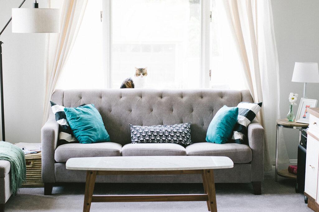 canapé décoration intérieur salon