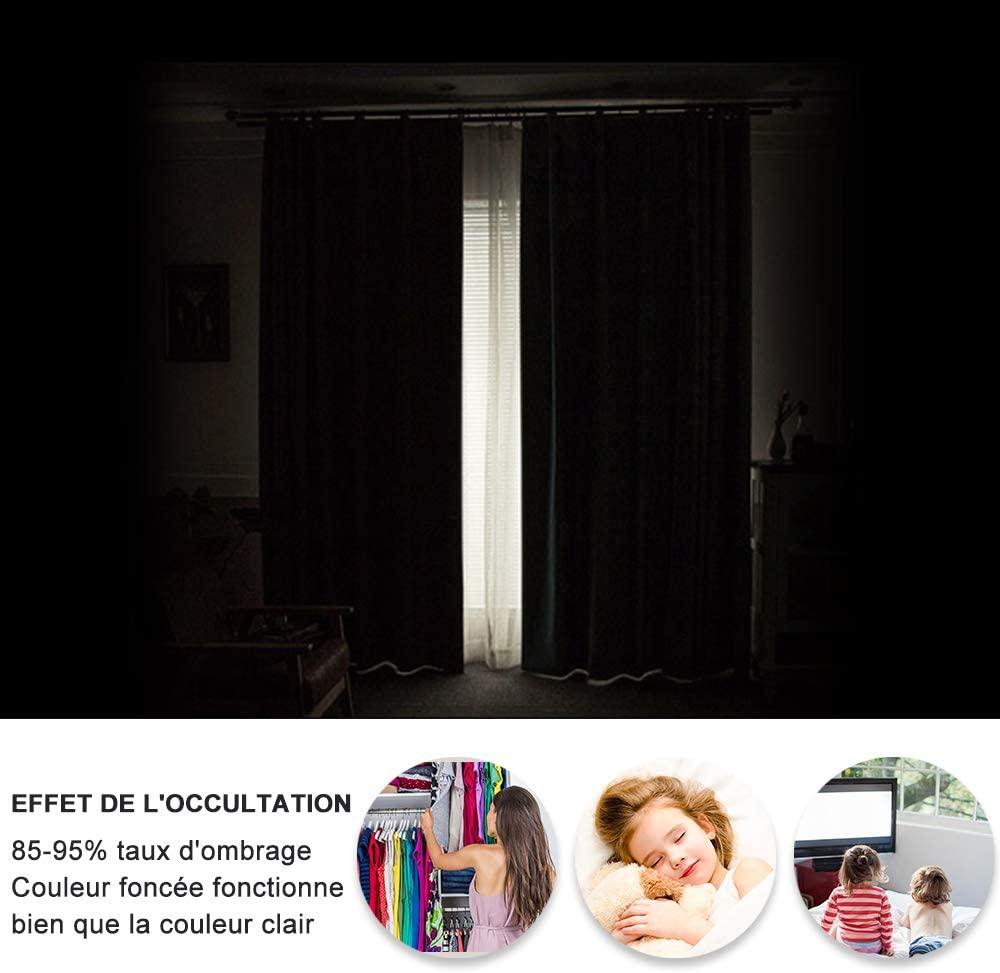 rideaux occultants pour bien dormir