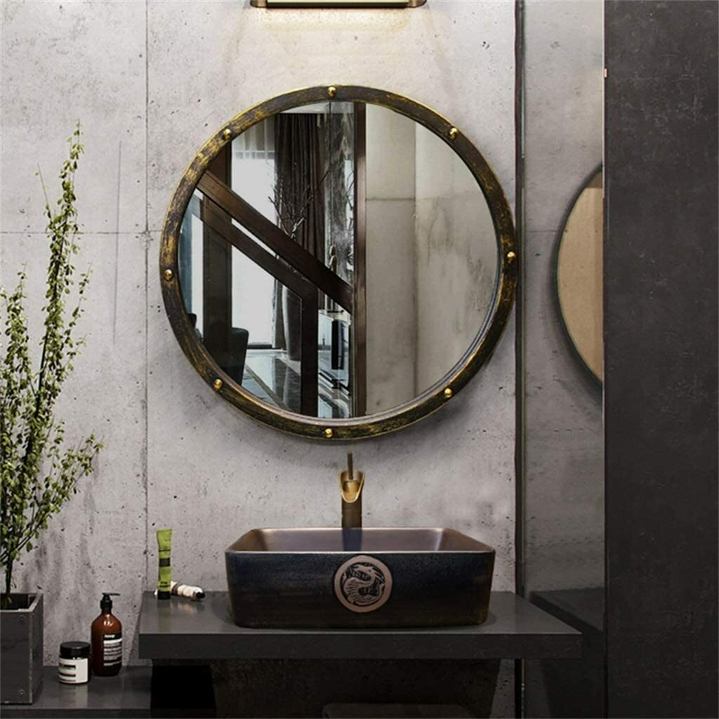 Miroir salle de bain industriel