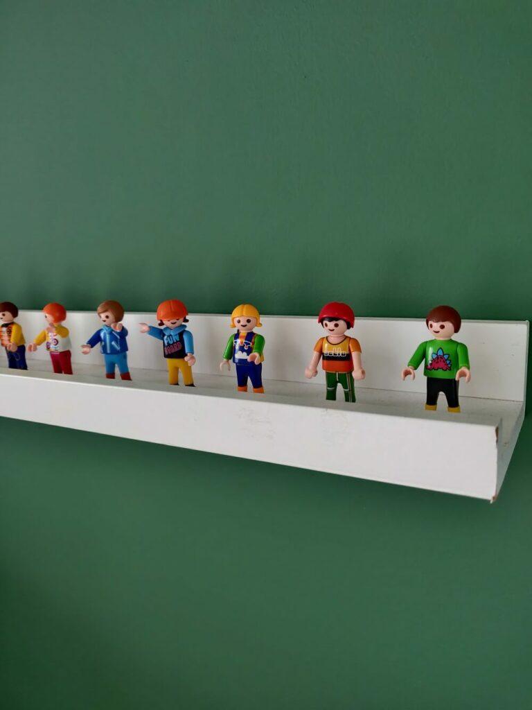 étagère pour ranger playmobil